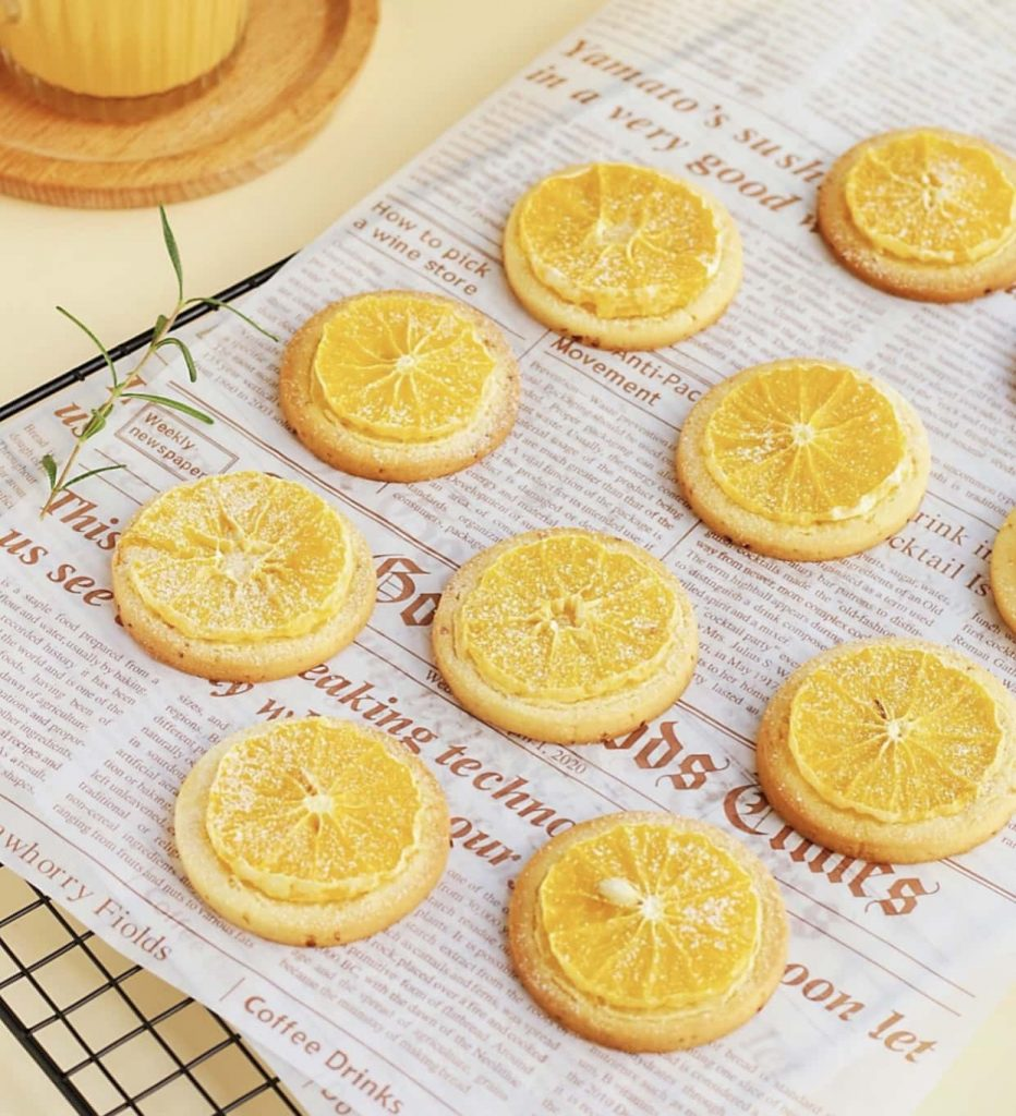 how to make orange cookies feature image