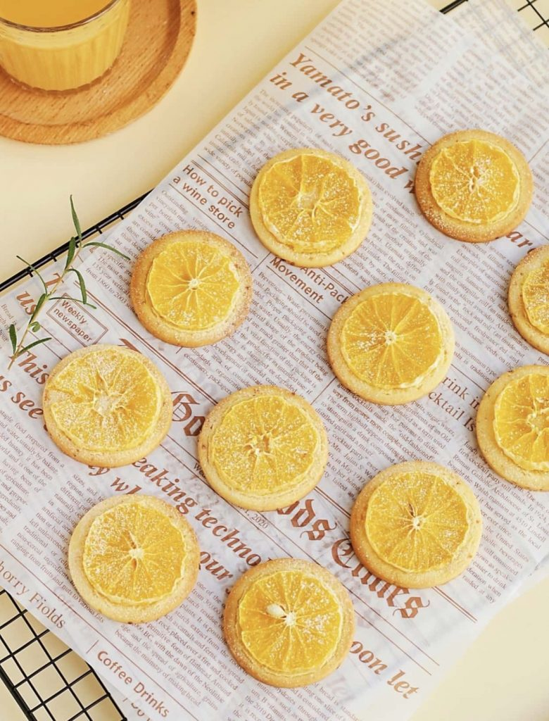 how to make orange cookies final image
